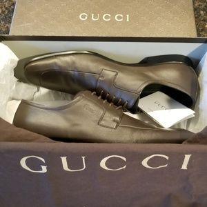 Gucci Mens Brown Oxfords